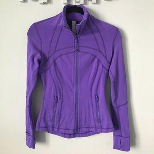 lululemon • define jacket (power purple)